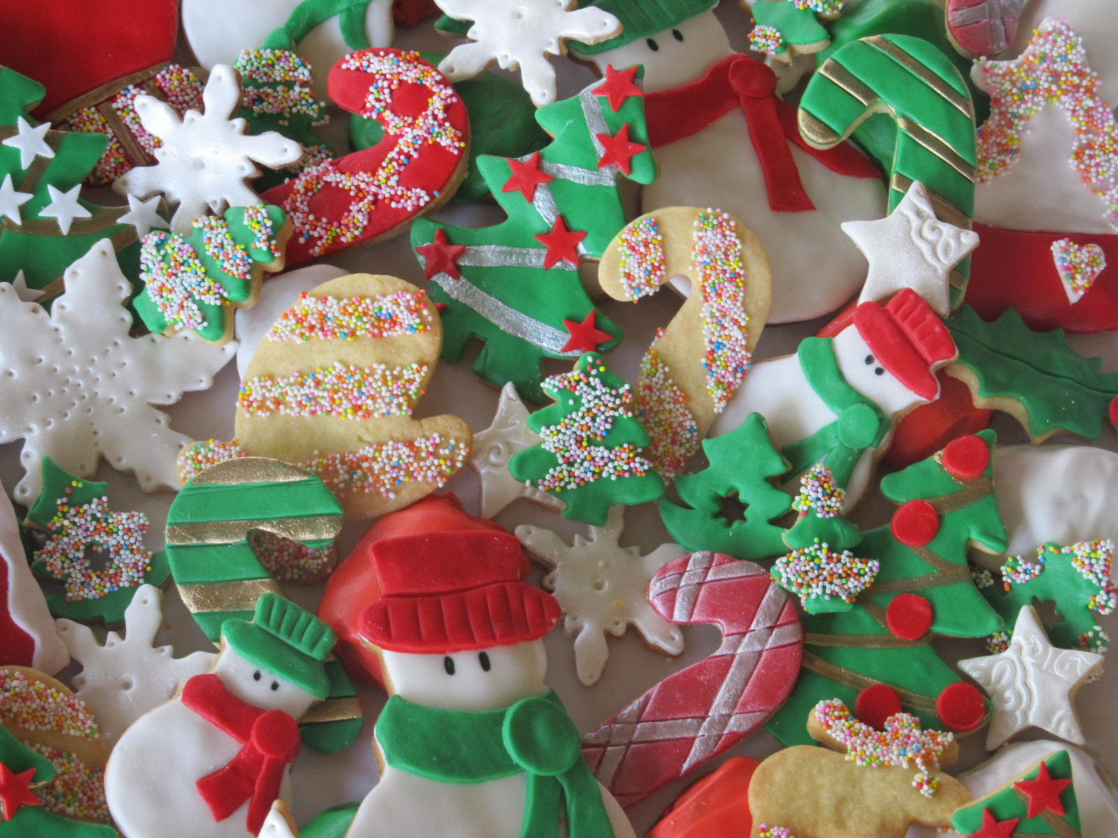 Cookies, toffee, Christmas cakes, picnics and more.